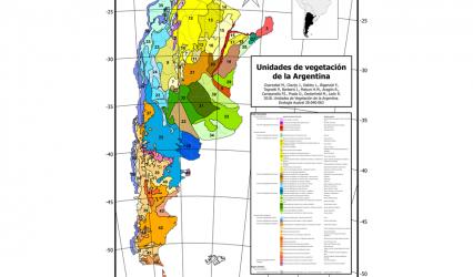 Unidades de Vegetación de la Argentina