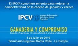 Seminario del IPCVA en La Pampa